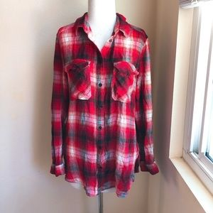Urban Outfitter Super Soft Flannel Button Down